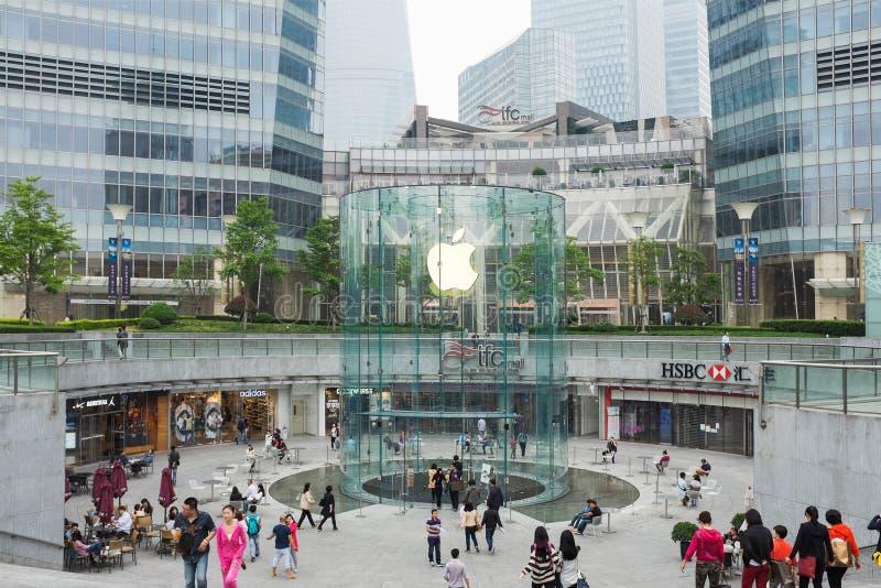 Apple speichern in Shanghai, China stockfoto