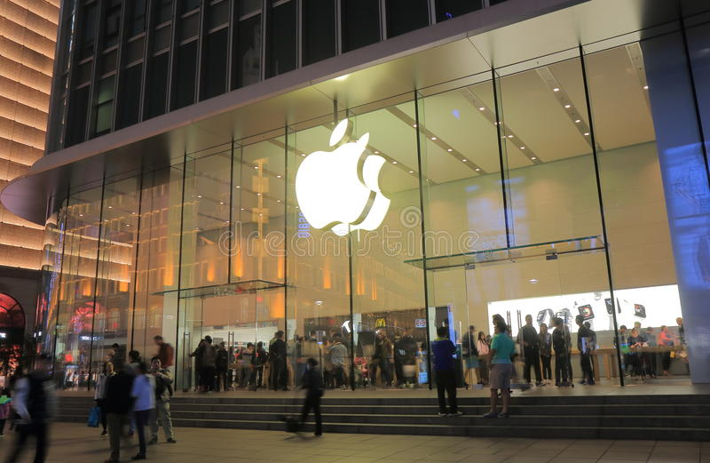 Apple speichern Shanghai China stockfotos