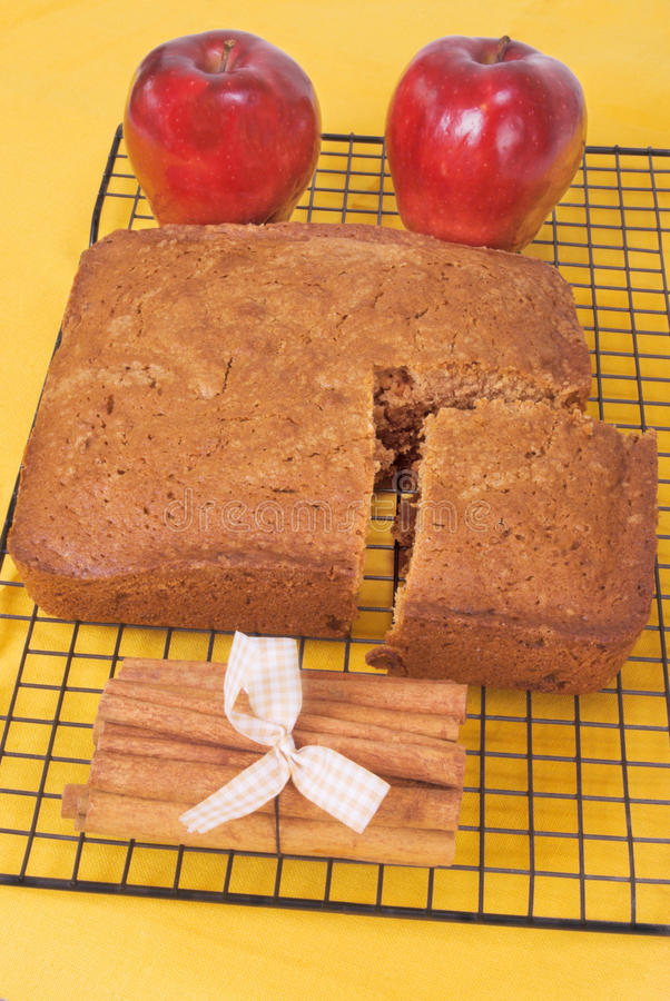 Apple Spice Bread stock photography