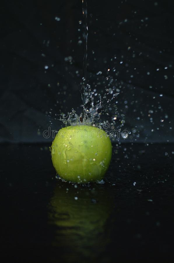 Download Apple Splash stock image. Image of dulcet, dripping, adulterated - 186427