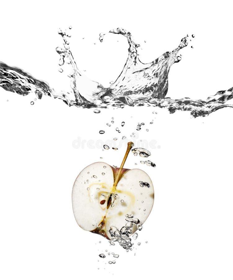 Free Apple Splash In Water Stock Images - 7120884
