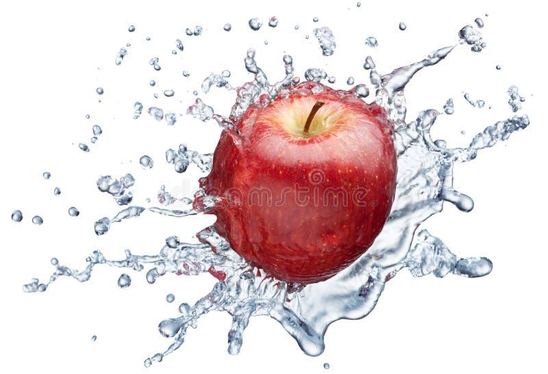 Download Apple splashing in water stock photo. Image of liquid - 15529822