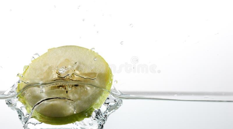 Apple spritzen stockfotos
