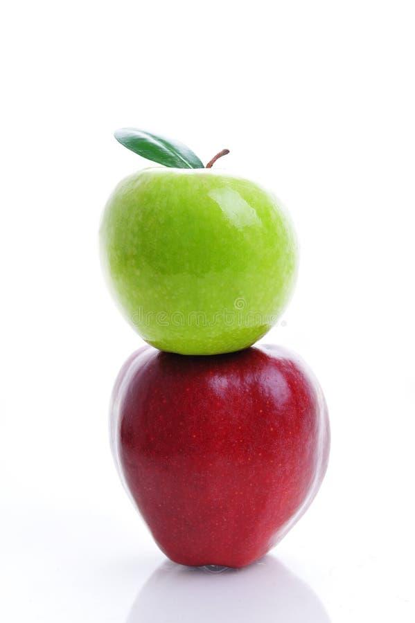 Apple stack stock photo