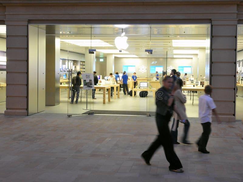 Apple Store stock afbeelding