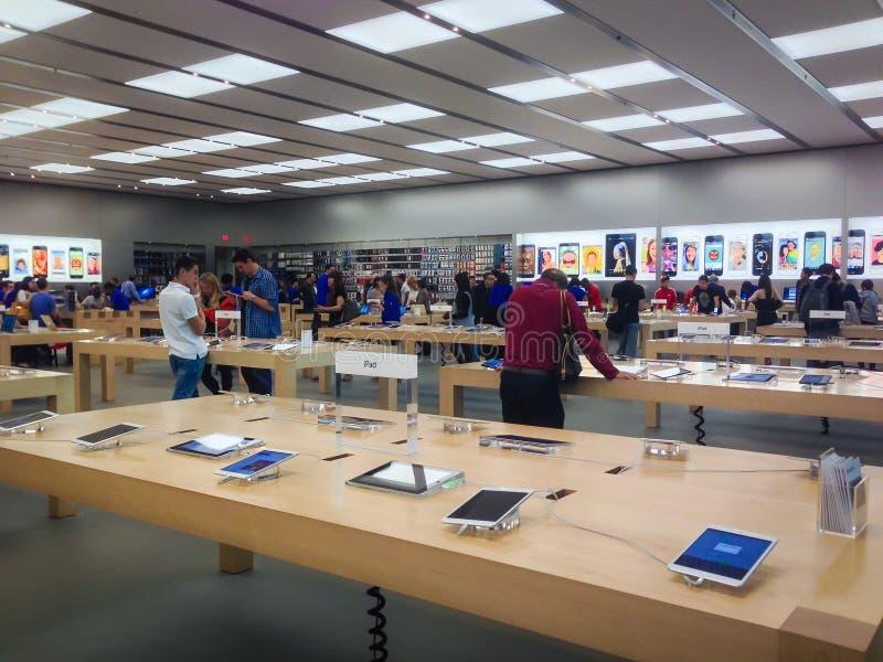 Apple Store zdjęcie stock