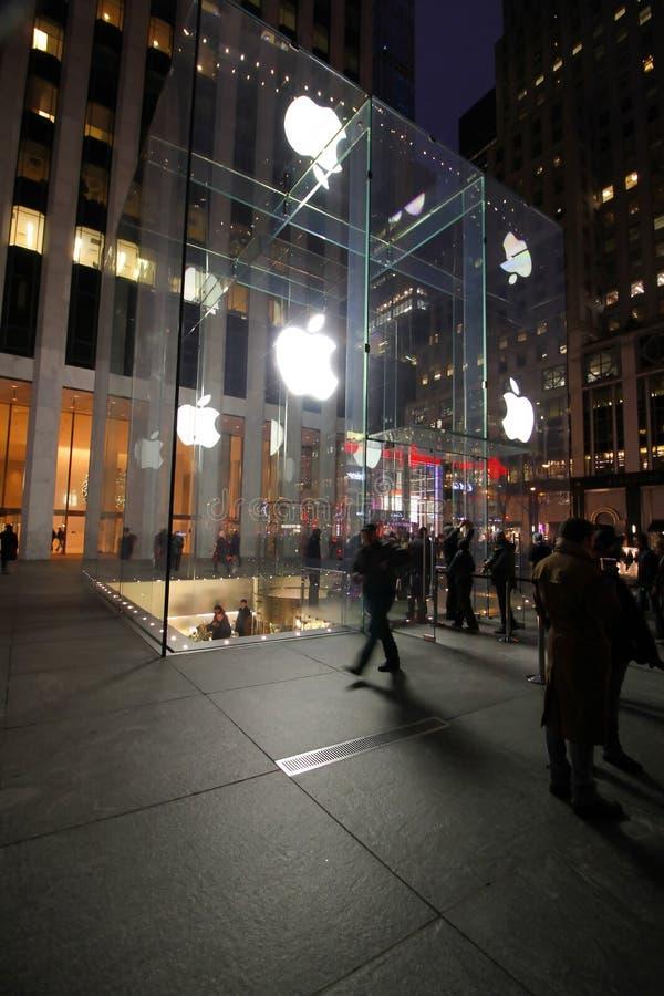 Apple Store royalty-vrije stock afbeelding
