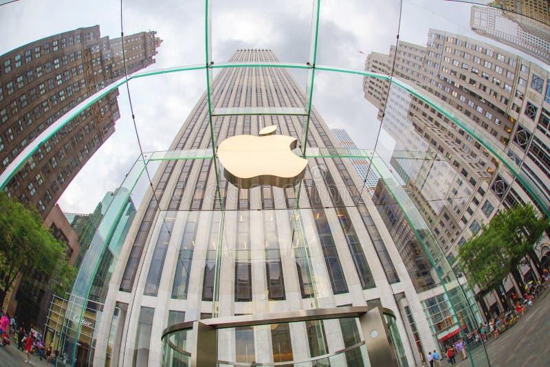 Apple Store photographie stock libre de droits
