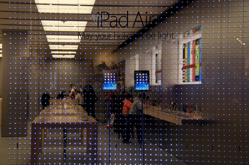 Apple Store At City Creek Center Editorial Stock Image