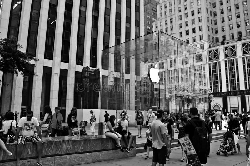 Apple Store, 5. Handels stockfotos