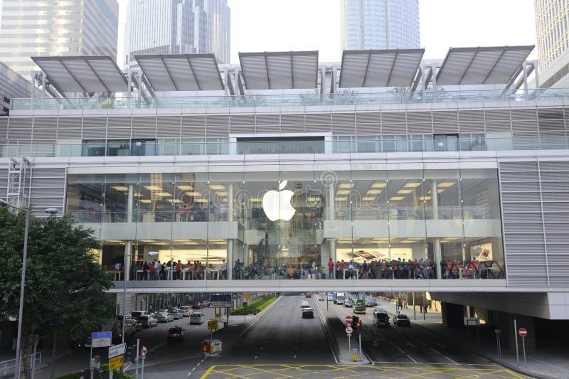 Apple Store at Hong Kong royalty free stock photography