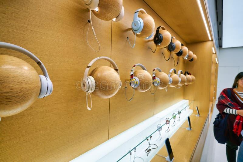 Apple store a Hong Kong immagini stock libere da diritti