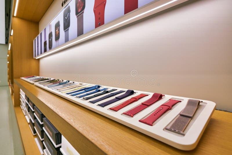 Apple store a Hong Kong fotografie stock