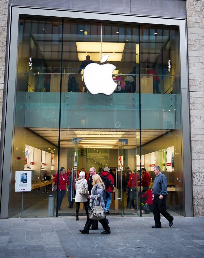 Apple store in Liverpool, UK