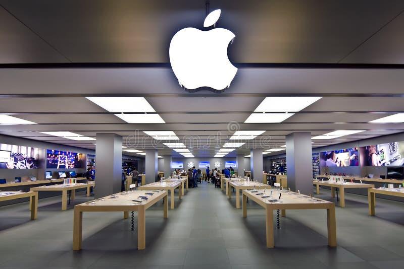 Apple Store royalty free stock photos