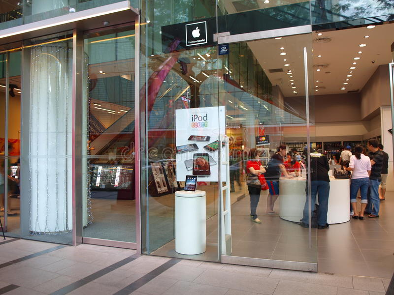 Download Apple Store Singapore editorial stock photo. Image of stores - 18558698