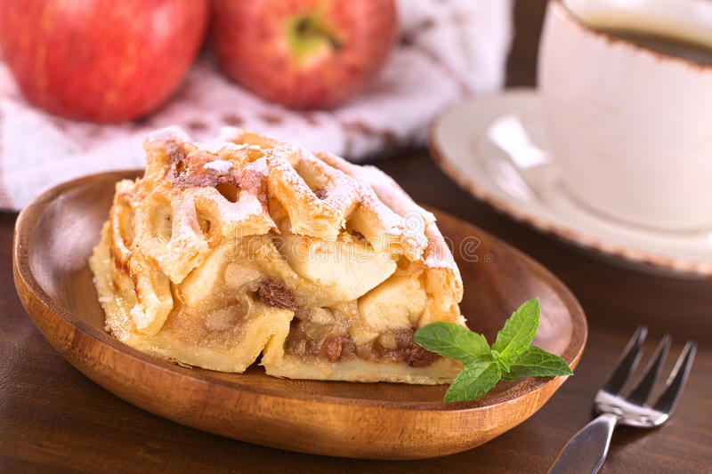 Apple Strudel stock image