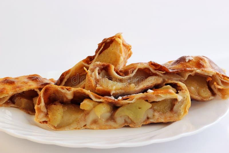 Download Apple strudel stock photo. Image of sweet, tasty, food - 39890276