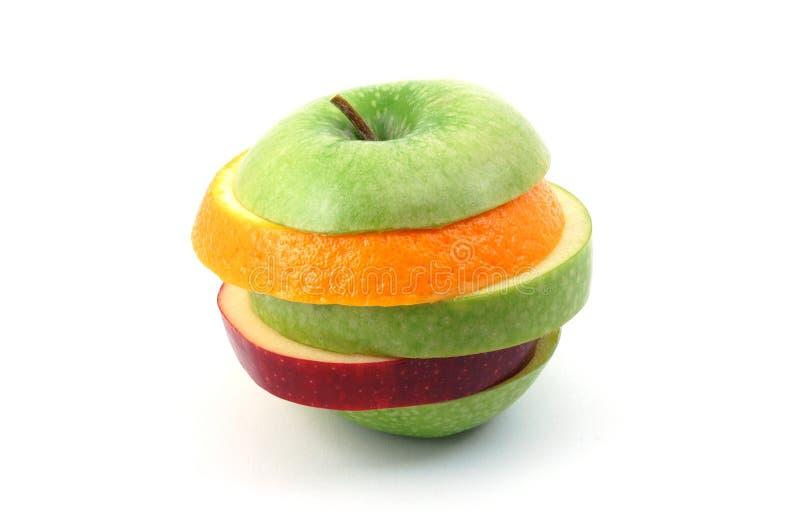 apple tło białe zdjęcia stock