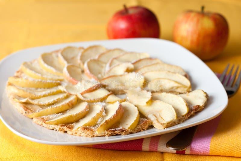 Apple tart stock image