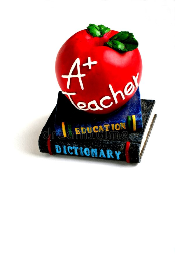 Download Apple for the Teacher stock image. Image of isolated, school - 1174247