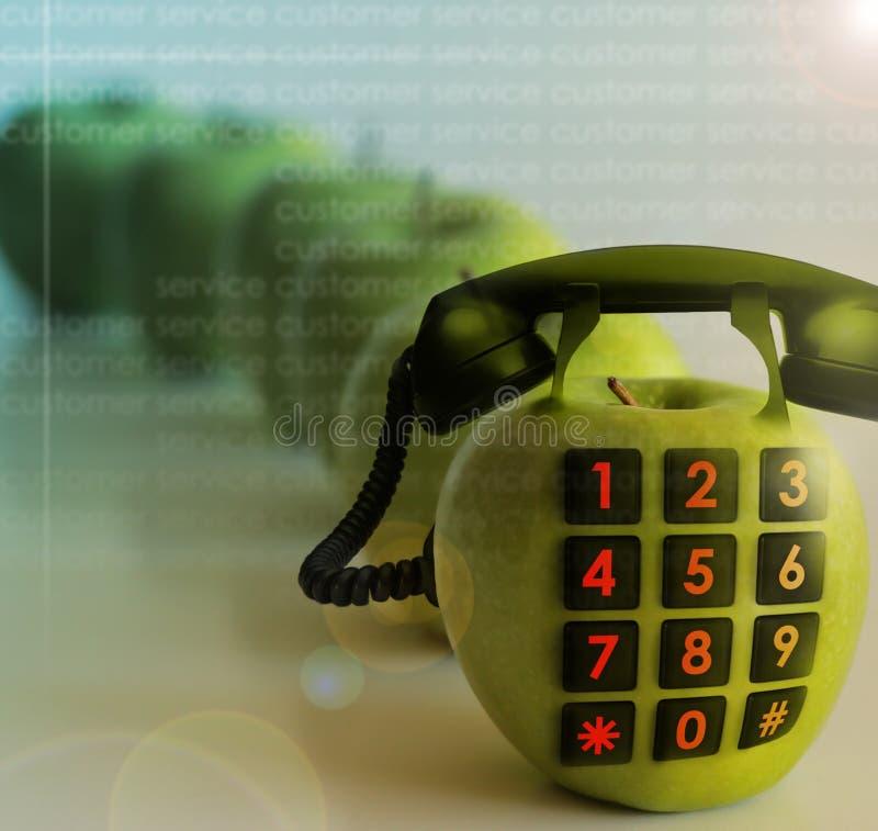 Apple-Telefon lizenzfreie stockfotografie