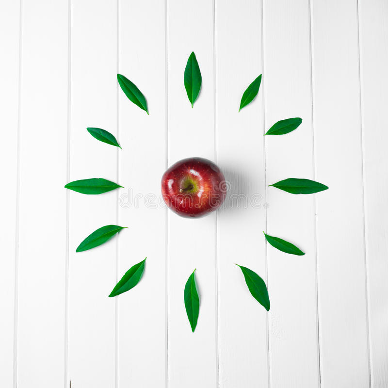Apple of time stock photos