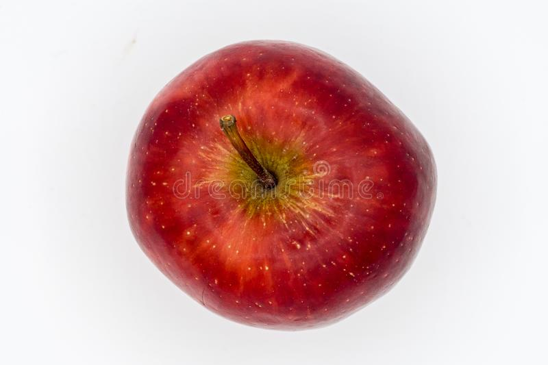 The apple on top view. royalty free stock photos