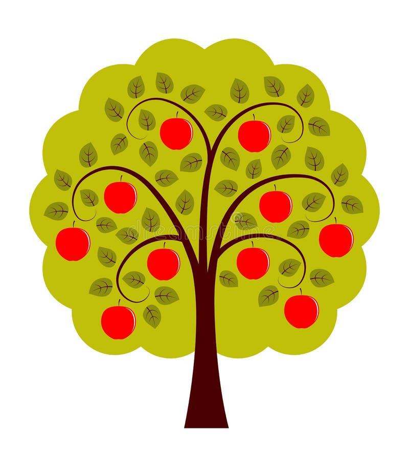 Apple tree stock illustration
