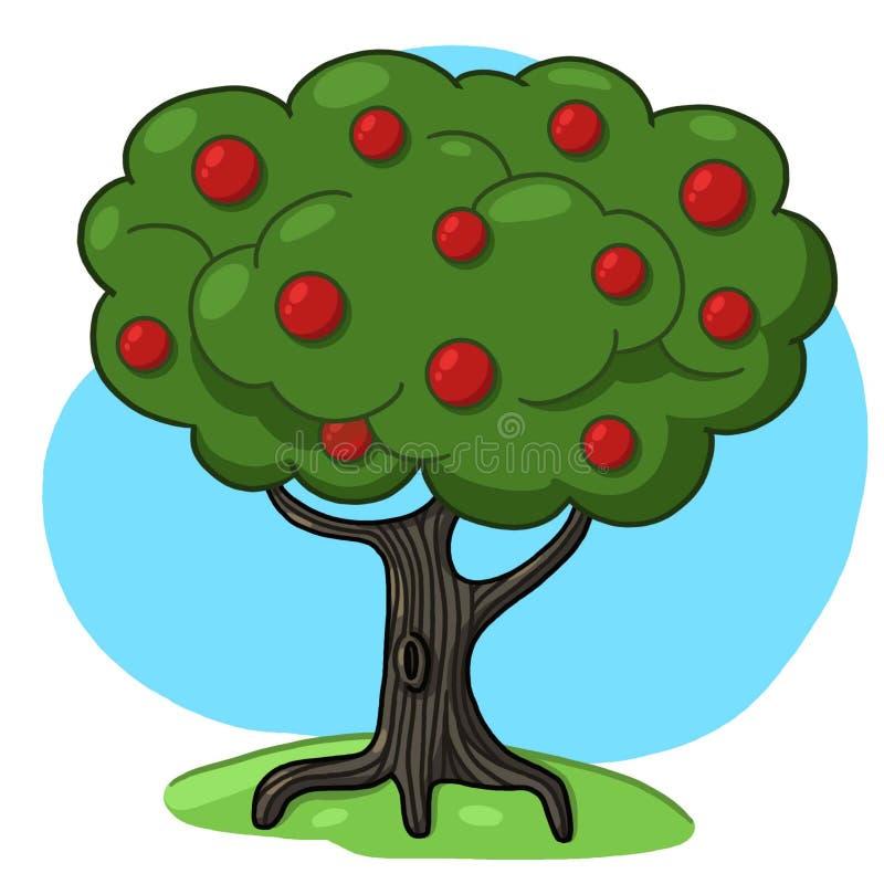 Download Tree illustration stock illustration. Image of food, tree - 28554484