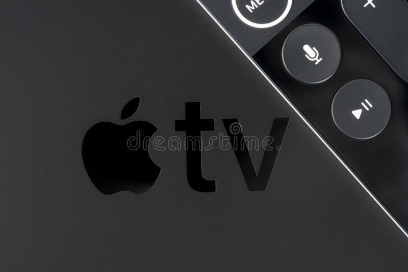Apple TV 4K imagen de archivo