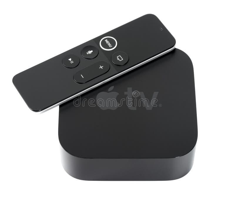 Apple TV 4K zdjęcia royalty free