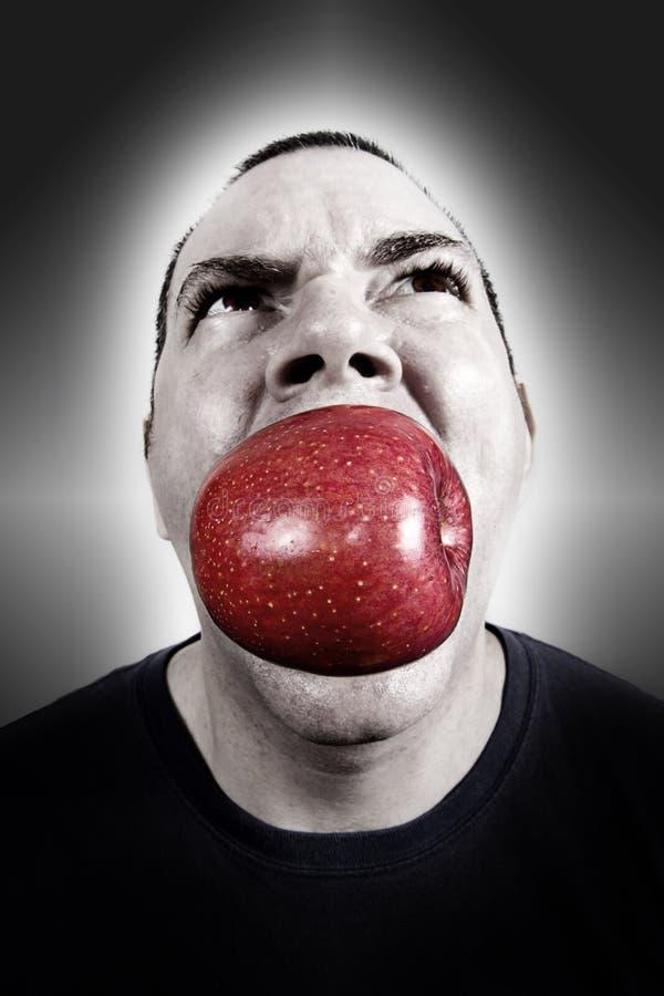 Apple um o dia imagem de stock