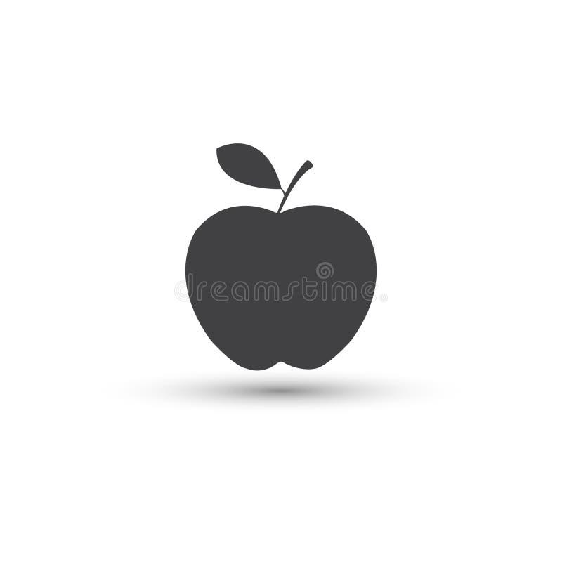 Apple vector el icono Apple da fruto libre illustration