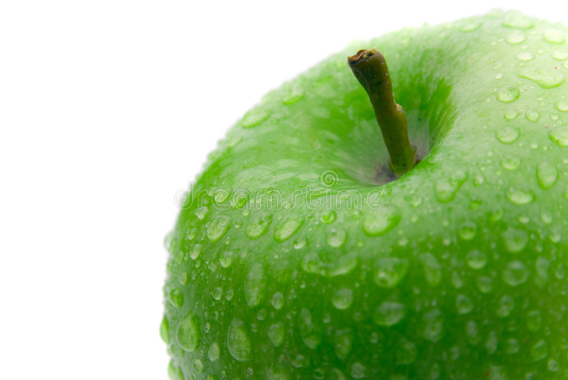 Apple verde imagem de stock royalty free