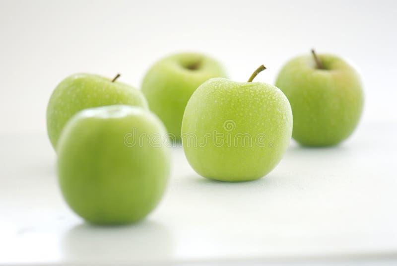 Apple verde fresco fotos de stock royalty free