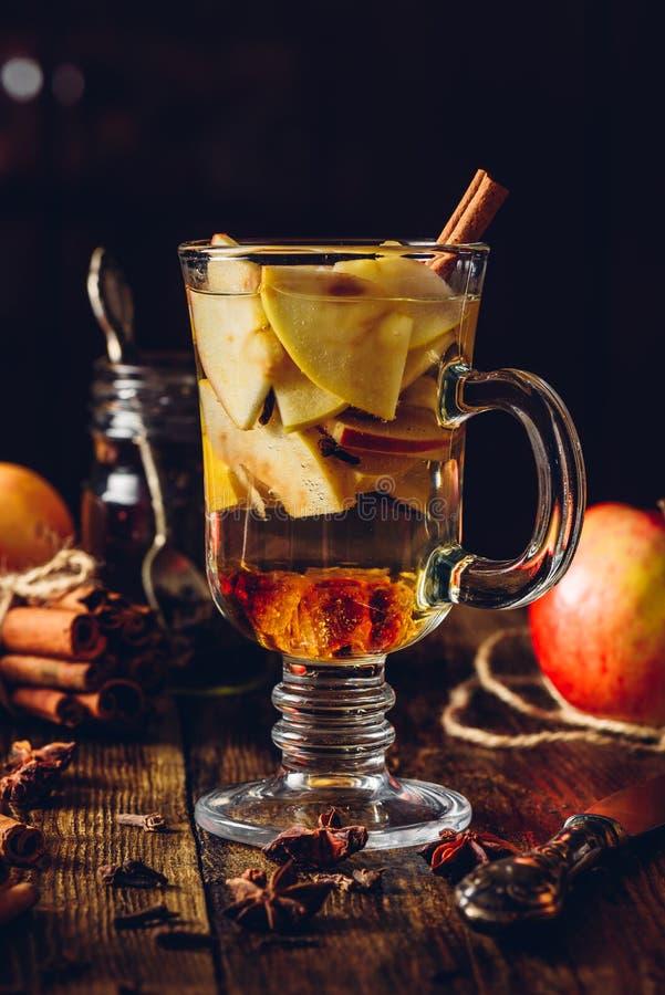 Apple verrührte Getränk stockfoto