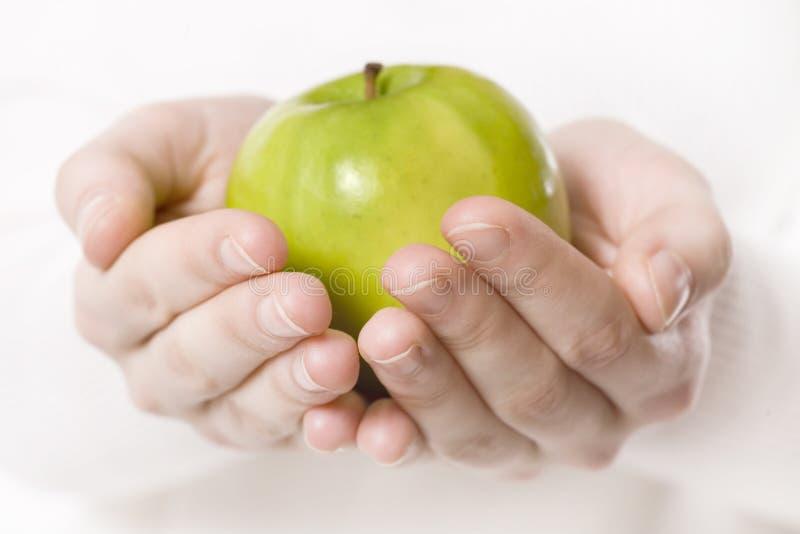 Apple vert image libre de droits