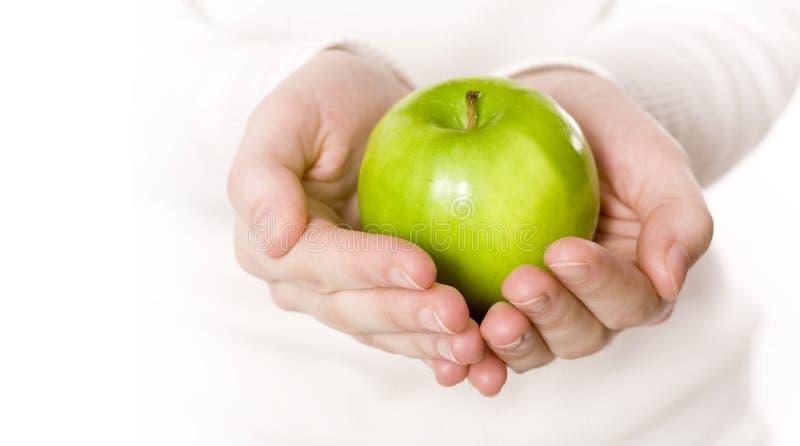 Apple vert photographie stock libre de droits