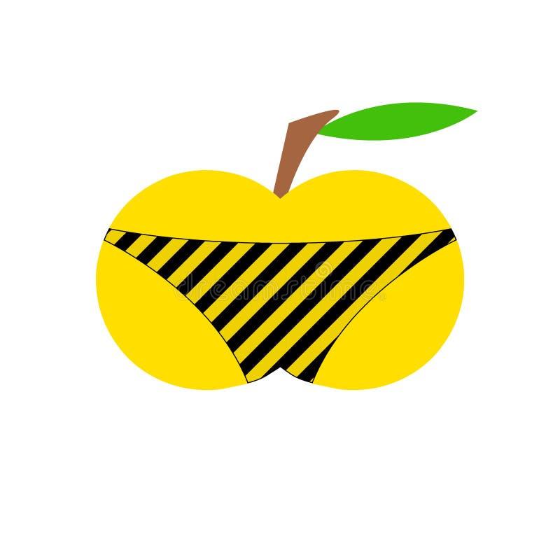 Apple w skrótach obrazy royalty free