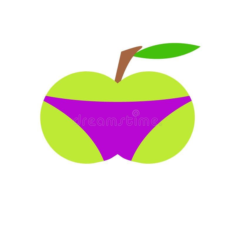 Apple w skrótach zdjęcia royalty free