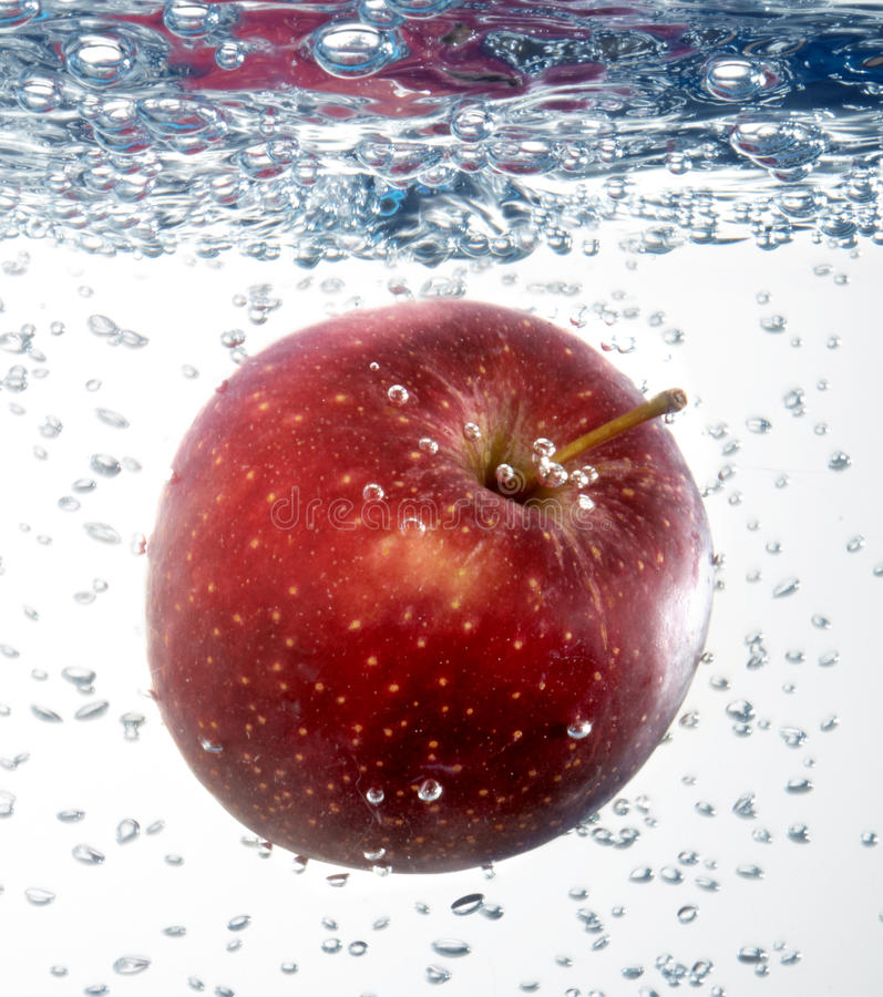 Download Apple in water stock image. Image of fruit, people, juice - 38953861