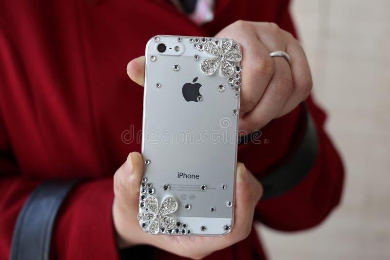 Iphone stockfotografie