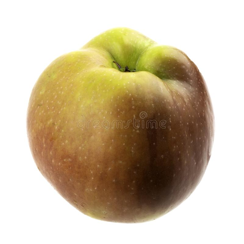 Apple on a white background royalty free stock photography