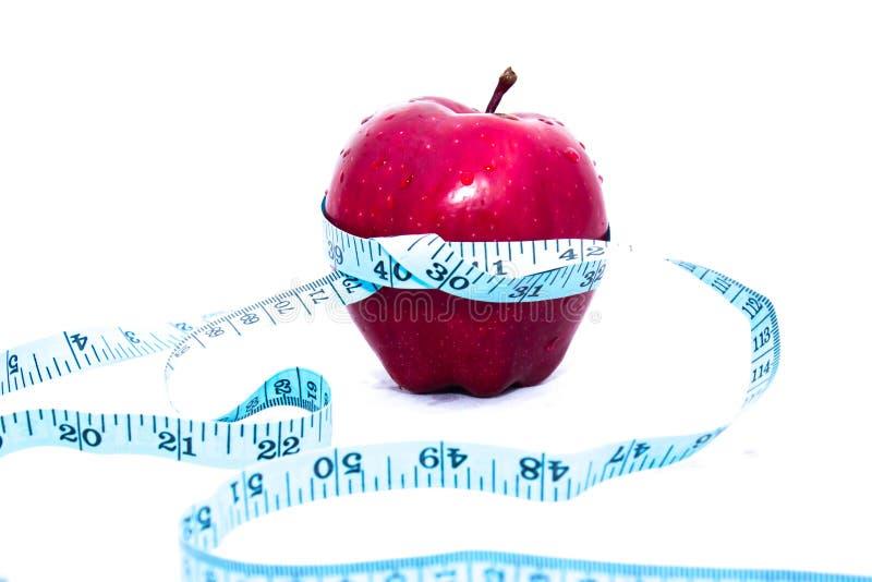 Apple wickelte Zentimeter ein stockfotos