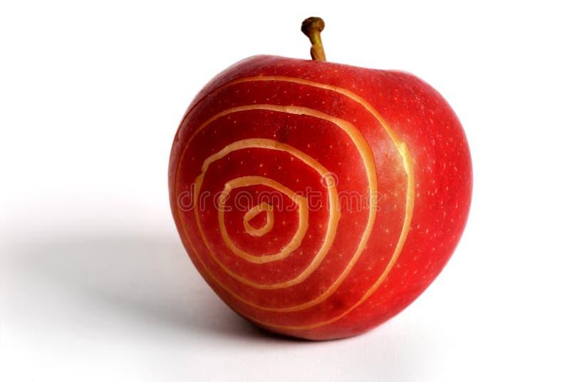 Apple-Ziel stockbilder