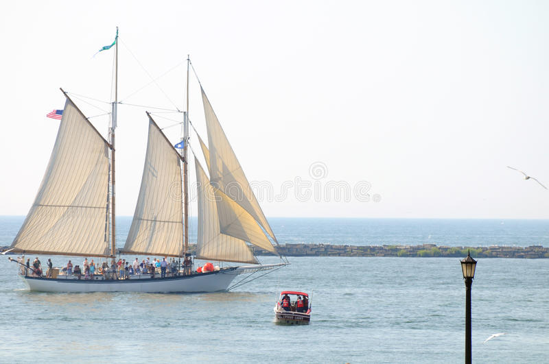 Appledore IV tall ship royalty free stock image