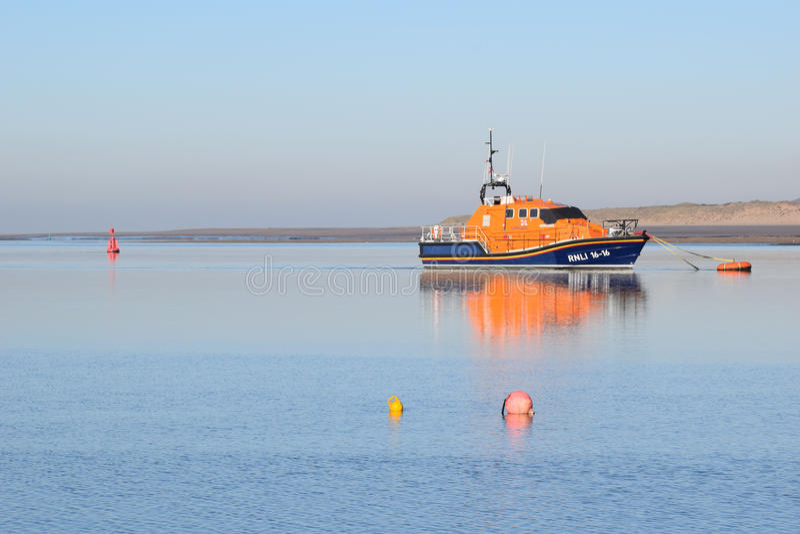 Appledore-Rettungsboot 2 stockfotos
