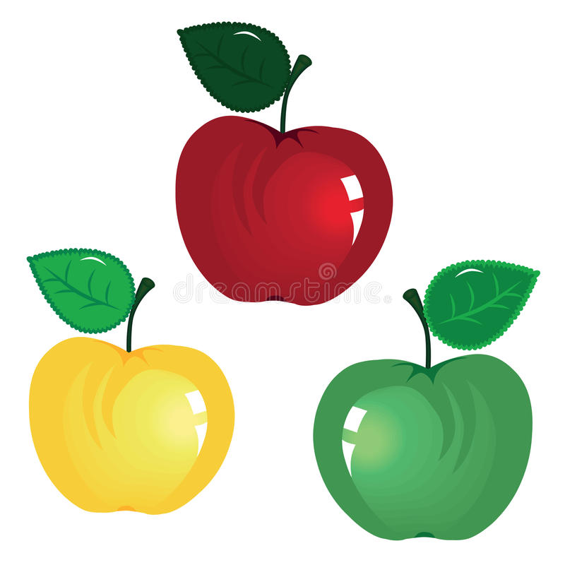 Download Apples stock vector. Image of clipart, beautiful, mellow - 20177346