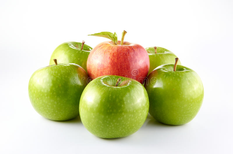 Download Apples stock image. Image of clean, juicy, light, leaf - 21781615